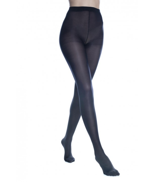 MICROFIBER OPAQUE TIGHTS WITH PANEL GUSSET